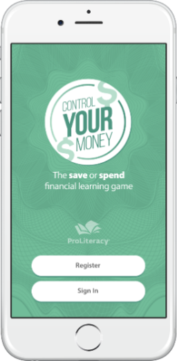 Financial literacy mobile game